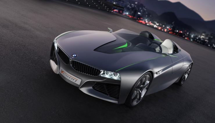BMW Vision ConnectedDrive, Frontansicht