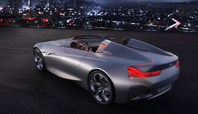 BMW Vision ConnectedDrive, Seitenansicht