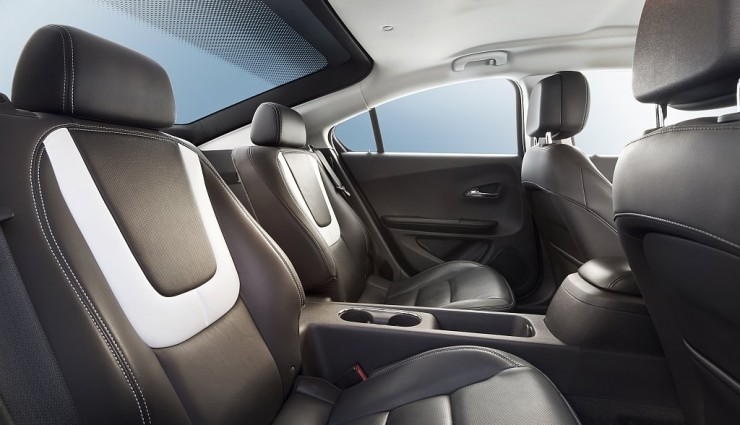 Opel Ampera Rücksitze