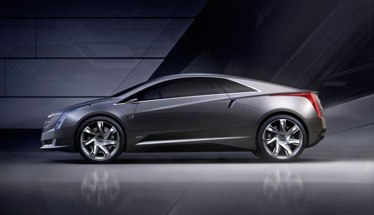 Cadillac ELR, Seitenansicht