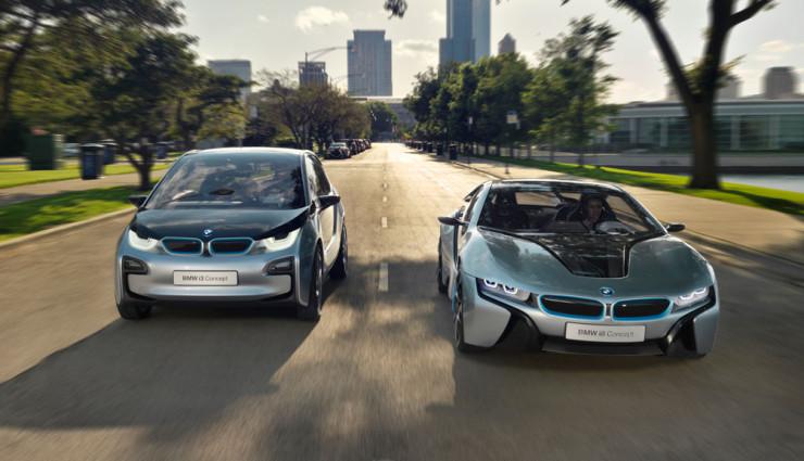 BMW i3 & i8, Frontansicht