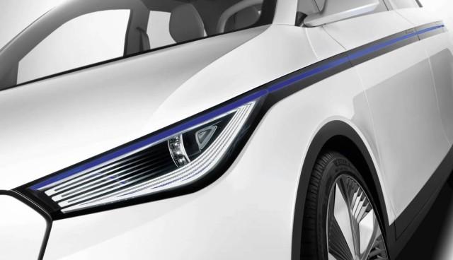 Audi A2 concept, Front