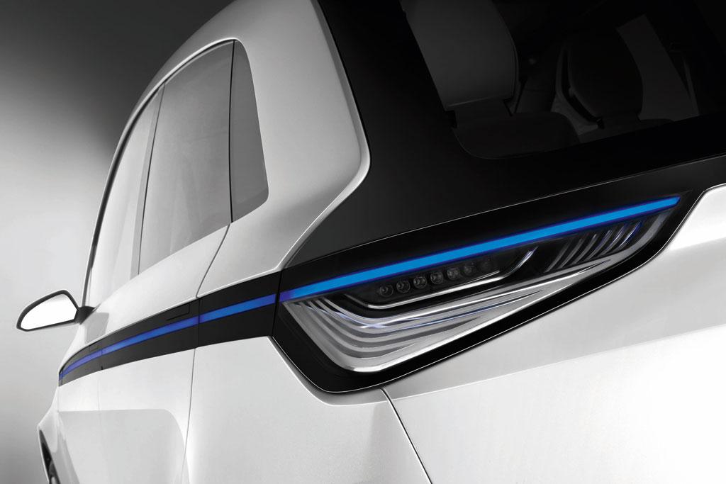 Audi A2 concept, Heck
