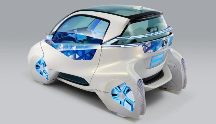 Honda Micro Commuter Concept, Seitenansicht