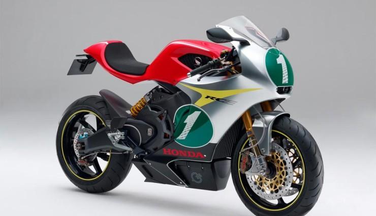 Honda RC-E, Seitenansicht