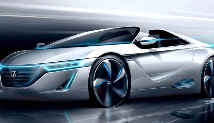 Honda Small Sport-EV, Frontansicht