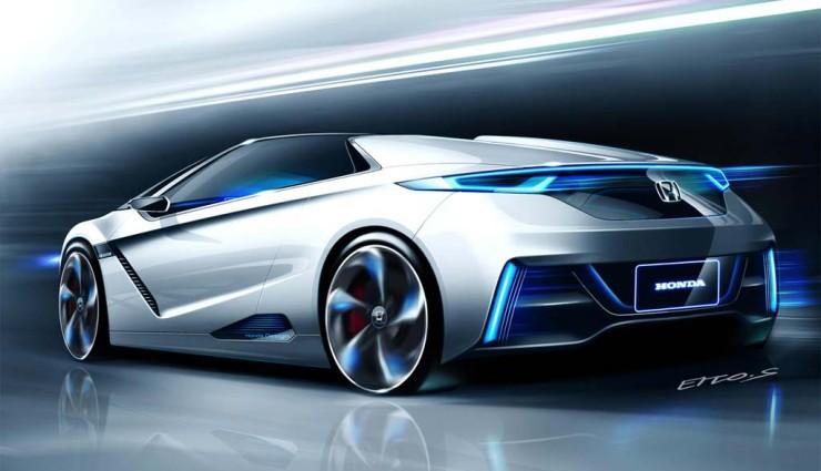 Honda Small Sport EV, Heckansicht