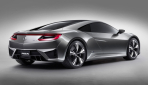 Acura NSX Concept Heckansicht