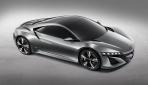 Acura NSX Concept Seitenansicht 2