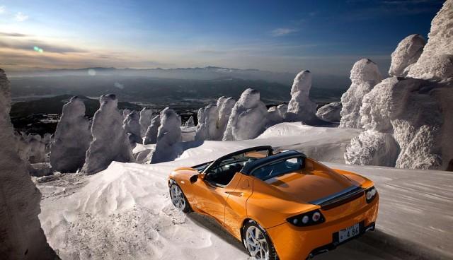 Elektroautos im Winter – Was man beachten muss