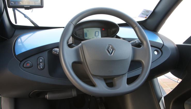 Elektroauto-Renault-Twizy-Innen