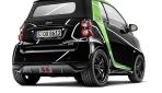Smart Brabus electric drive Heckansicht