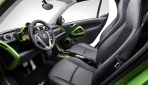 Smart Brabus electric drive Interieur