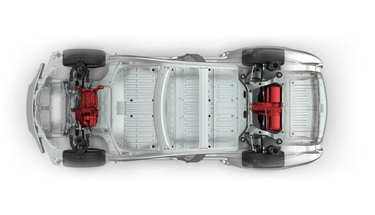 Telsa-Dual-Motor-Allradantrieb
