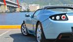 Tesla Roadster Heck