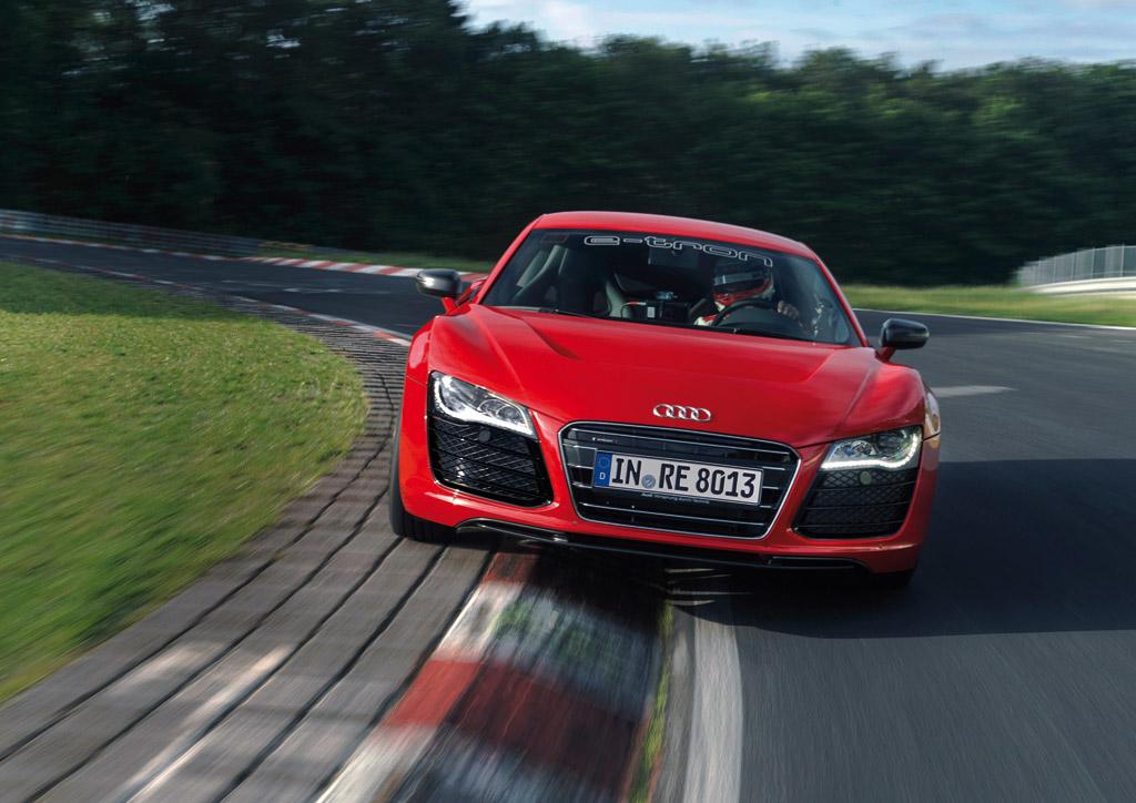 Audi R8 e-tron Weltrekord Nuerburgring