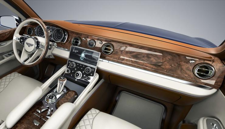 Bentley EXP 9 F Cockpit
