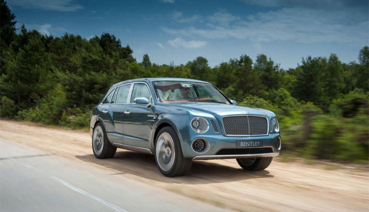 Bentley EXP 9 F Front