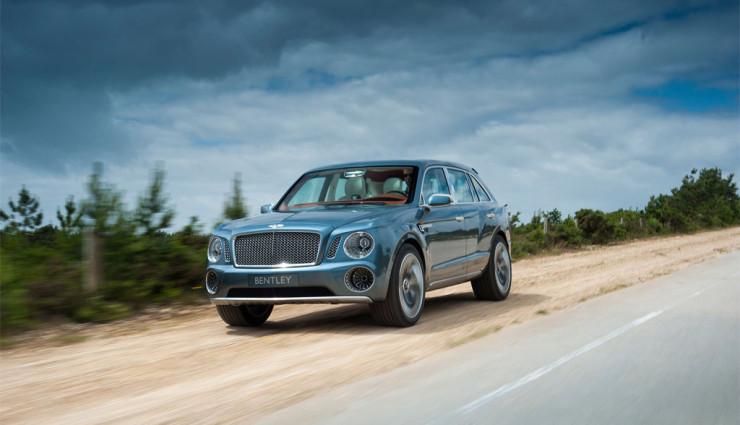 Bentley EXP 9 F Front 2