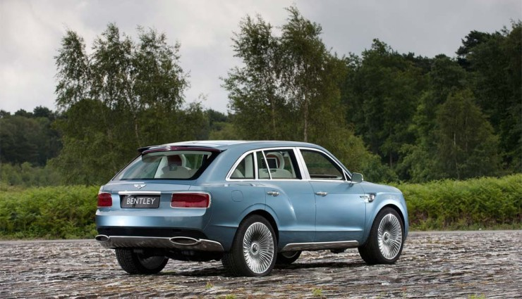Bentley EXP 9-F Heck 2