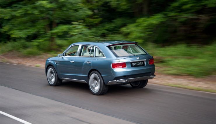 Bentley EXP 9 F Heck