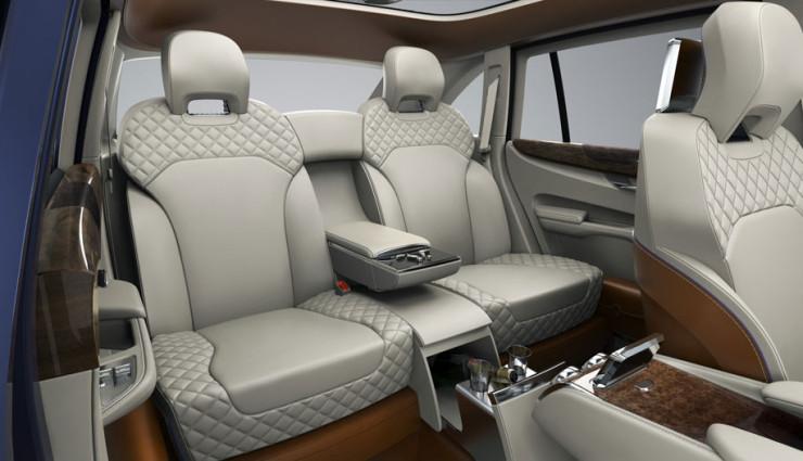 Bentley EXP 9 F Innenraum 2
