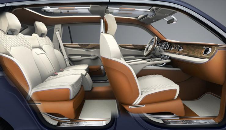 Bentley EXP 9 F Innenraum
