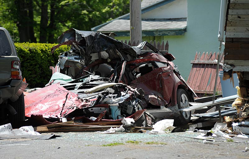 Chevrolet Volt, Opel Ampera Unfall, Feuer new York