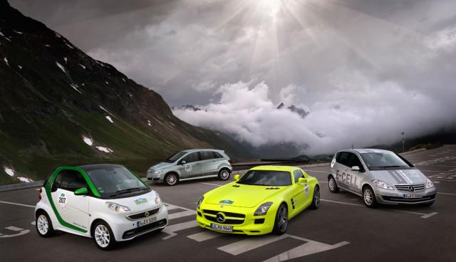 Silvretta e-Auto-Rallye 2012