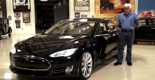 Jay Lenos Garage Tesla Model S