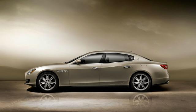 Maserati Quattroporte Hybrid Seitenansicht