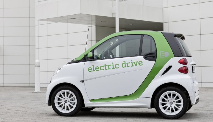 smart fortwo electric drive Seitenansicht