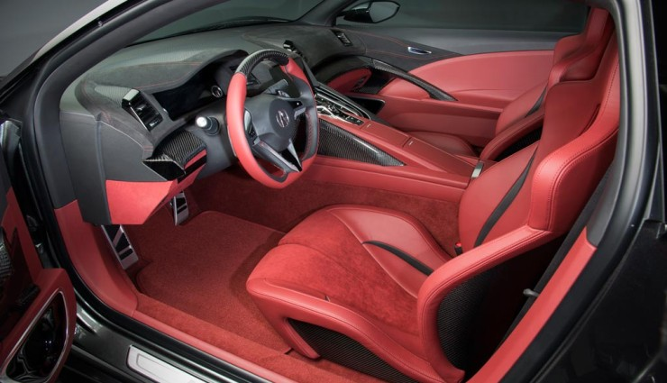 Honda NSX Hybrid 2013 Innenraum