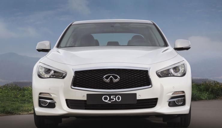 Infiniti Q50 Front