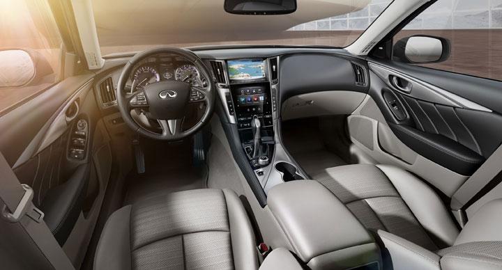 Infiniti Q50 Hybrid Innenraum