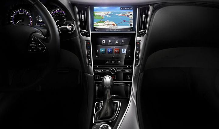 Infiniti Q50 Hybrid Navigation
