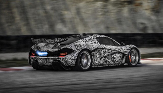 McLaren P1 Hybrid Erlkönig