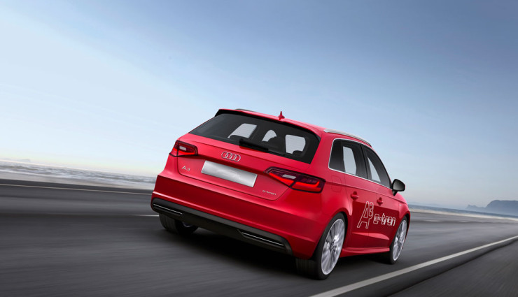 Audi A3 e-tron Heck