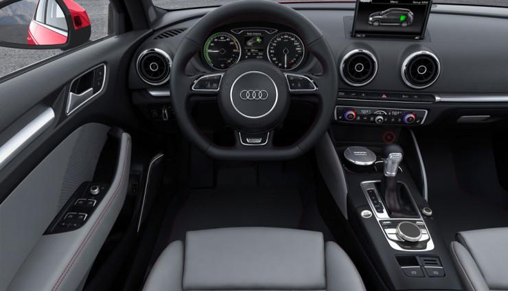 Audi A3 e-tron Innenraum