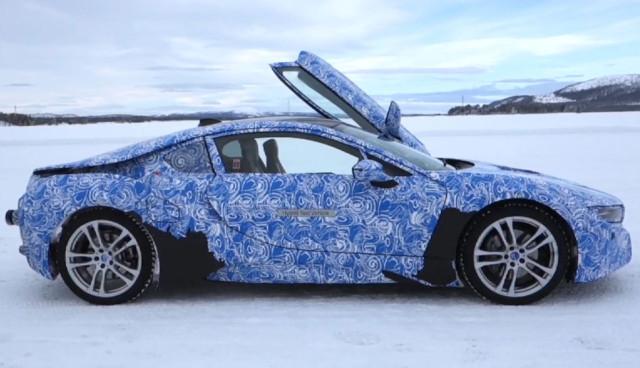 BMW-i8-Prototyp - Testfahrt im Winter