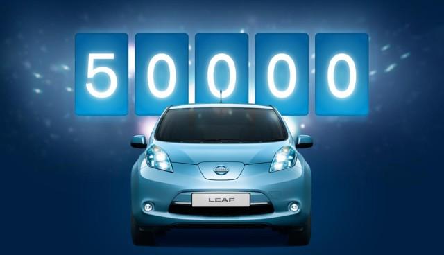 Elektroauto Nissan Leaf weltweit 50.000 mal verkauft