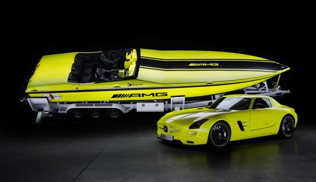 Mercedes-AMG Concept Cigarette AMG Electric Drive SLS AMG electricbeam