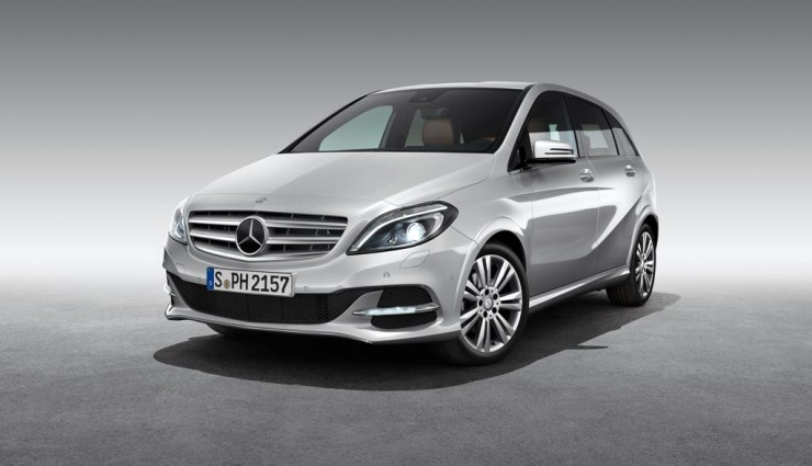 Mercedes B 200 Natural Gas Drive Front