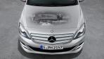 Mercedes B 200 Natural Gas Drive Motor