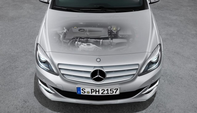Mercedes B 200 Natural Gas Drive Motor