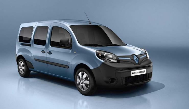 Renault präsentiert neuen Kangoo ZE