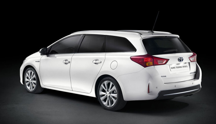 Toyota Auris Touring Sports Heckansicht