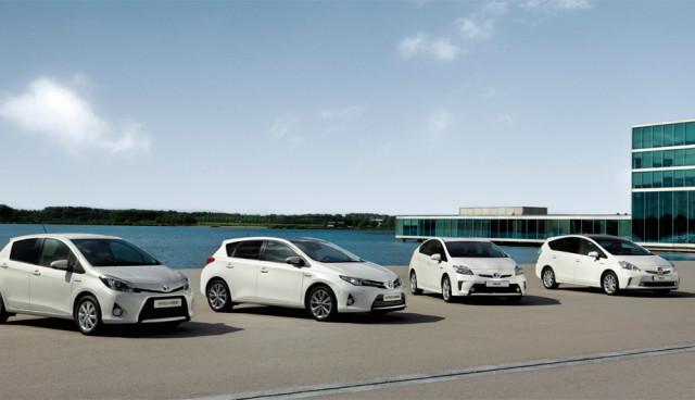 Toyota Hybrid-Verkaufszahlen 2012