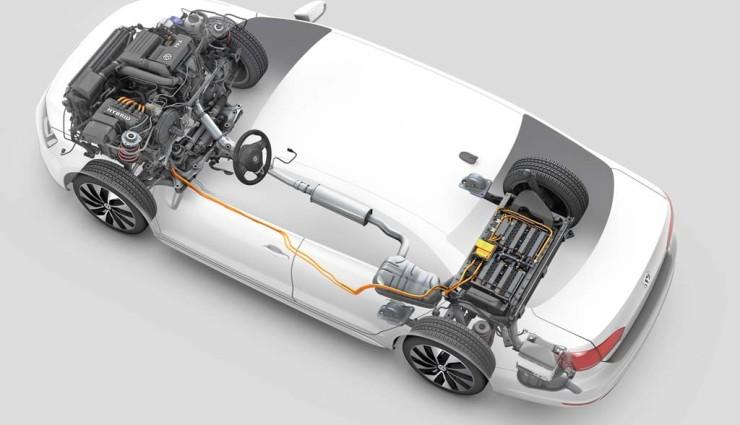 VW Jetta Hybrid Antriebskonzept