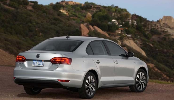 VW Jetta Hybrid Heck